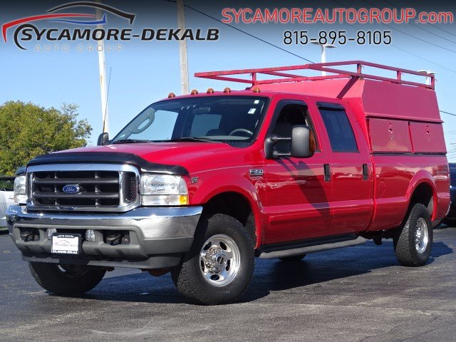 Pre-Owned 2003 Ford Super Duty F-350 SRW Lariat