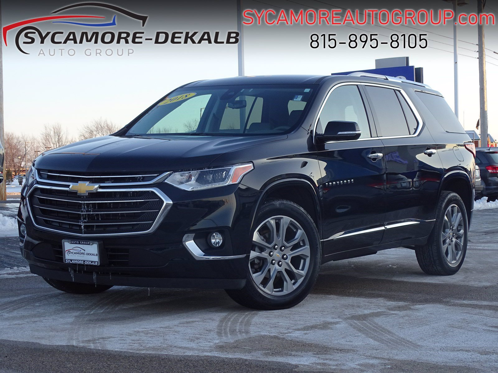 Pre-Owned 2018 Chevrolet Traverse Premier