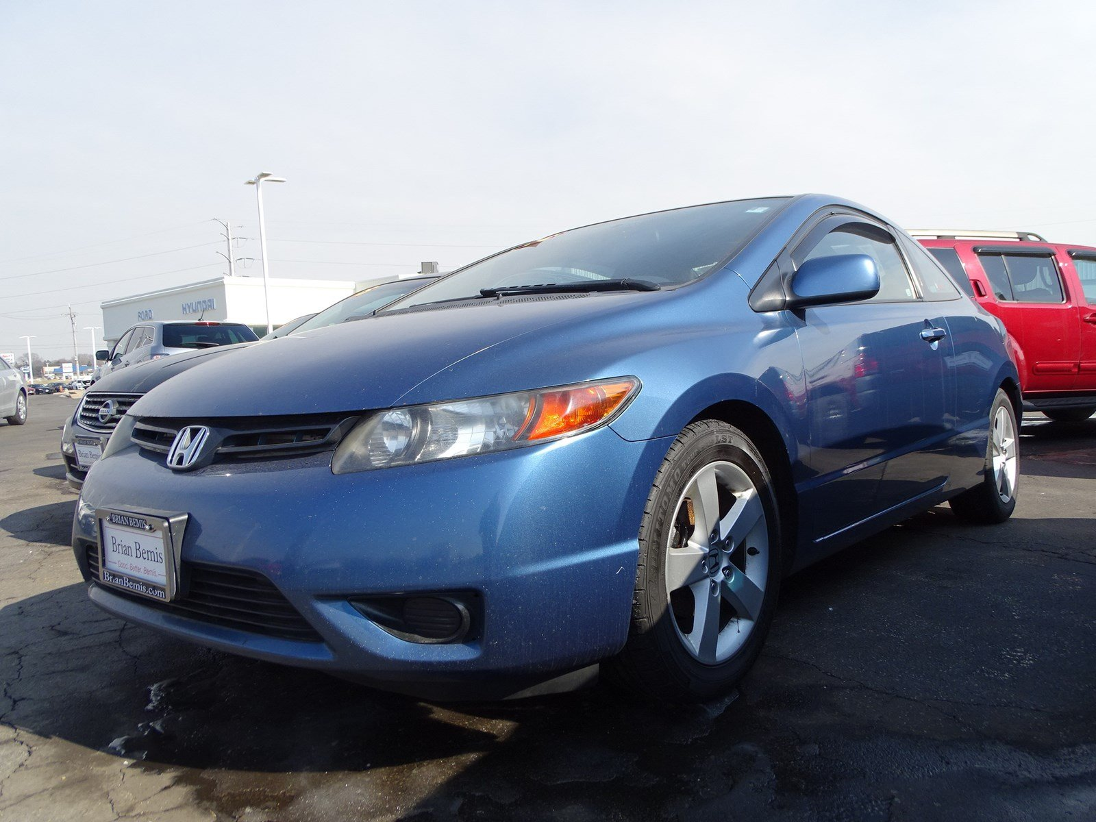 Pre-Owned 2006 Honda Civic Cpe EX FWD 2dr Car