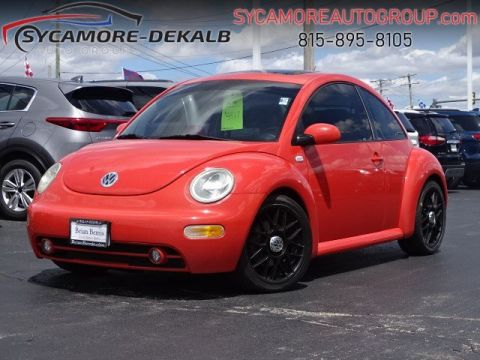 Pre-Owned 2003 Volkswagen New Beetle Coupe GLX