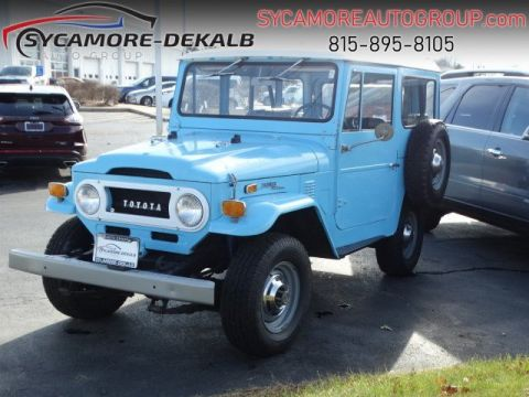 Pre-Owned 1971 TOYOTA FJ LAND CRUISER